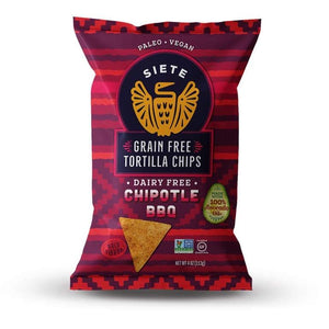 TORTILLA SIETE 113G CHIPOTLE BBQ LIMITED EDITION
