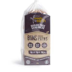 BUNS 320G S/S SWEETS FROM THE EARTH