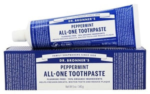 TOOTHPASTE 140g DR.BRONNER PEPPERMINT