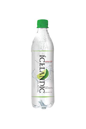 SPARKLING WATER ICELANDIC 500ml -  PH 8.4 LIME