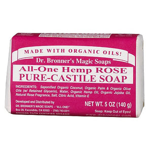SOAP 140G ROSE DR.BRONNER