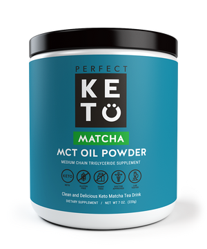 MCT OIL POWDER 300G MATCHA