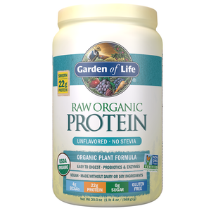 PROTEIN RAW VEGAN 620G UNFLAVORED