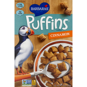 CEREAL PUFFINS 283G CANNELLE