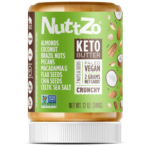 NUT & SEED KETO BUTTER 340g