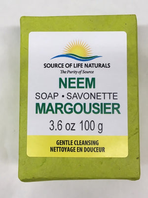 SOAP NEEM 100G SOURCE OF LIFE