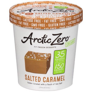 SALTED CARAMEL FROZEN DESSERT 16 oz (only Montreal and surroundings)
