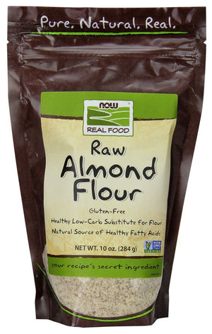 FARINE AMANDES 284G RAW NOW
