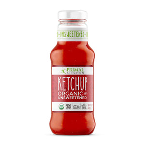 KETCHUP UNSWEETENED 320g ORGANIC