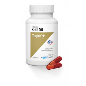 KRILL OIL 60CAP TROPHIC
