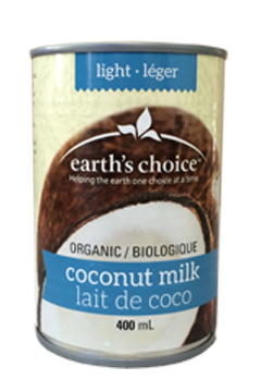 LAIT COCO 400M LEGER EARTH