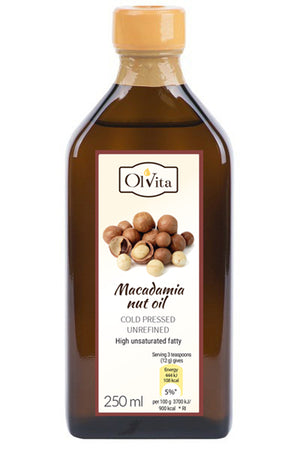 MACADAMIA NUT OIL 250ML OLVITA