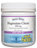 MAGNESIUM CITRATE 250G BERRY