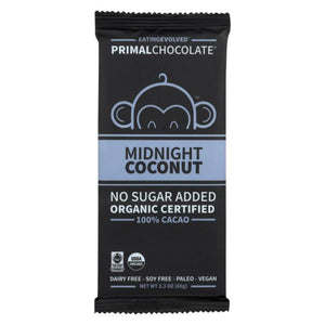 BAR EVOLVED 65G MIDNIGHT COCONUT 100%