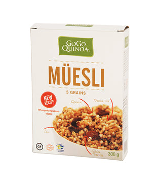 CEREAL 300G MUESLI 5GRAINS G
