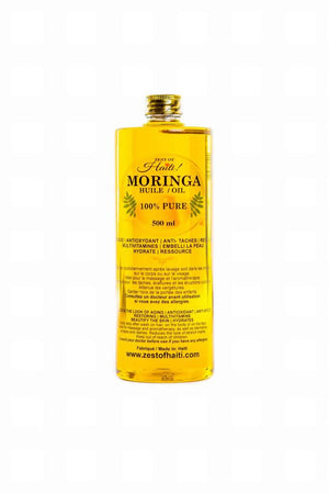 MORINGA OIL 500ML ZESTOHAITI