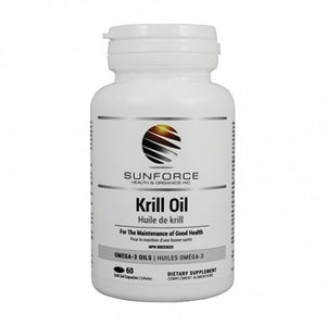 KRILL OIL 60CAP SUNFORCE