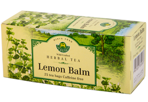 TEA HERB.LEMON BALM 25SAC