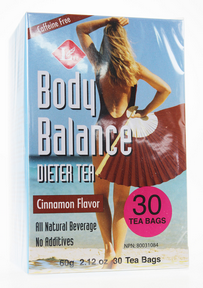TEA BODY BALANCE 30B CANNELL