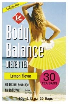 TEA BODY BALANCE 30B CITRON
