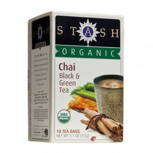 TEA STASH CHAI BLACK & GREEN