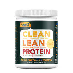 CLEAN LEAN PROTEIN PLANT BASED 500G VANILLA