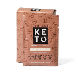 INSTANT KETO COFFEE FRENCH VANILLA SINGLE PACKET