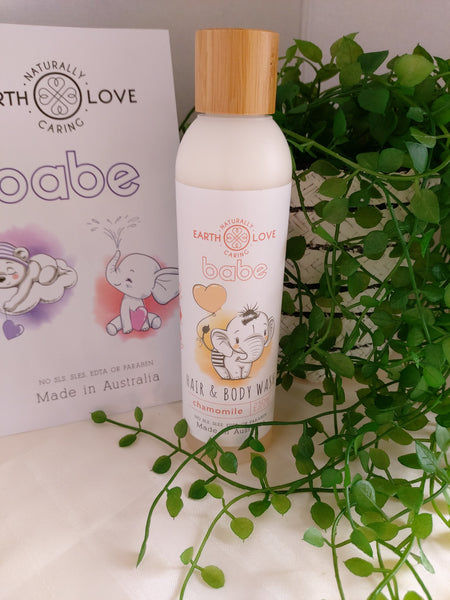 Chamomile Hair & Body Wash ~ Babe Series by Earth Love