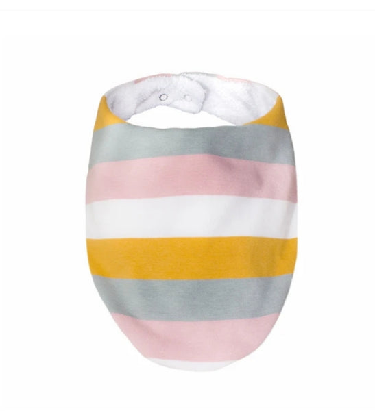 Rainbow Stripe Bib by Lily and George