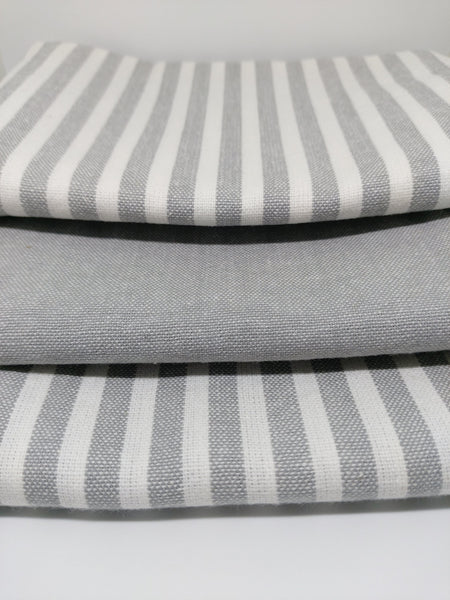 Classic Tea Towel Trio ~ Grey ~ by Citta Design
