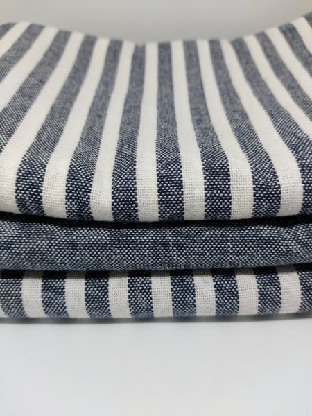 Classic Tea Towel Trio ~ Navy ~ by Citta Design