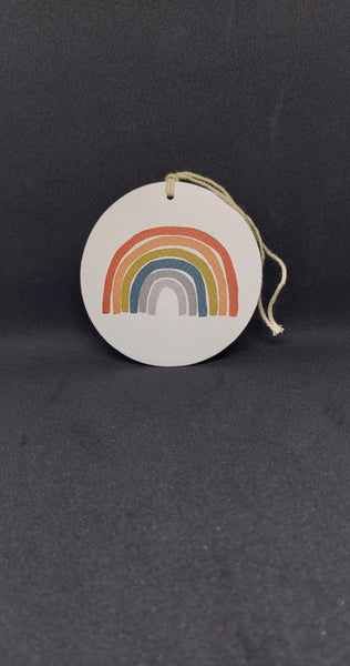 Rainbow Gift Tag by Citta Design