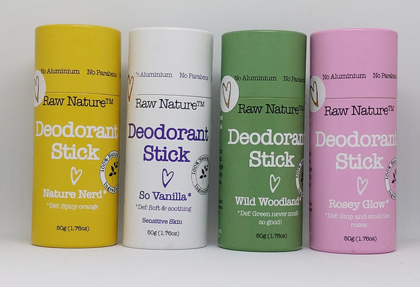 Zero Plastic Deodorant Stick by Raw Nature