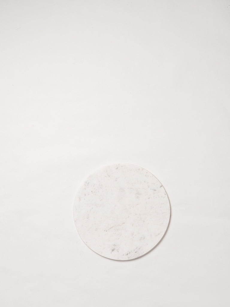 Round Marble Serving Board by Citta Design