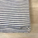French Linen Marine Stripe Duvet