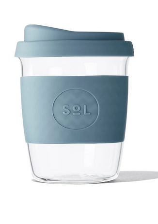 SoL Cups - Reusable Glass Coffee Cups - 8oz