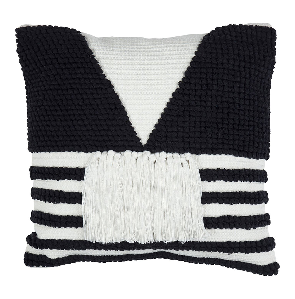 Vivian Cushion ~ Black and White