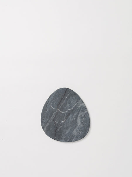 Grey Marble Curved Serving Board by Citta Design
