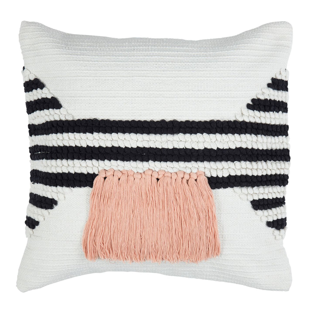 Juliet Cushion ~ Black & White