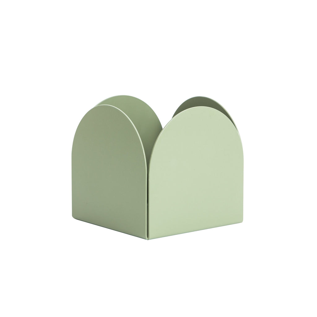 Fold Arch Pot Mist Green by Made of Tomorrow
