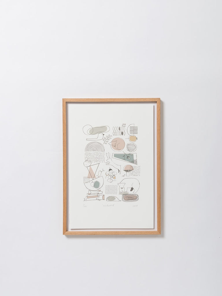 Wildwood Print - Limited Edition by Citta Design