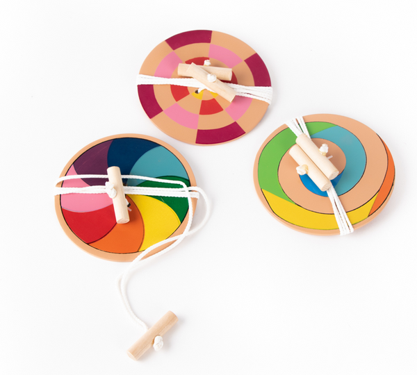 Coloured Spinner by Trade Aid