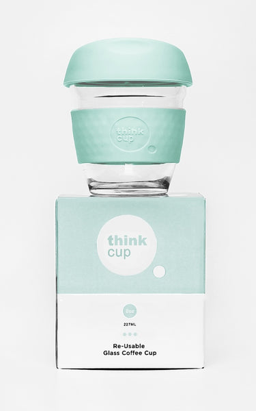 Think Cup 8oz Glass Coffee Cup * * Last One! * *