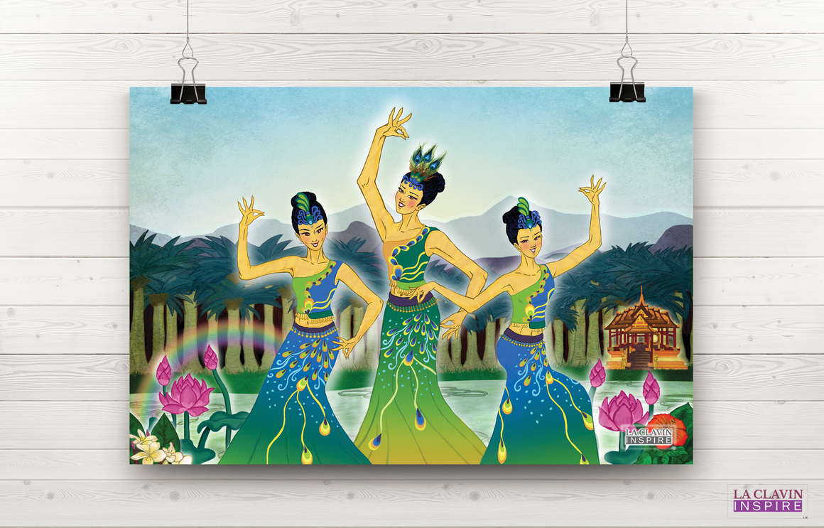 Peacock Dance Wall Art