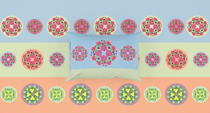 Blue Ridge Wildflowers Fitted Sheet