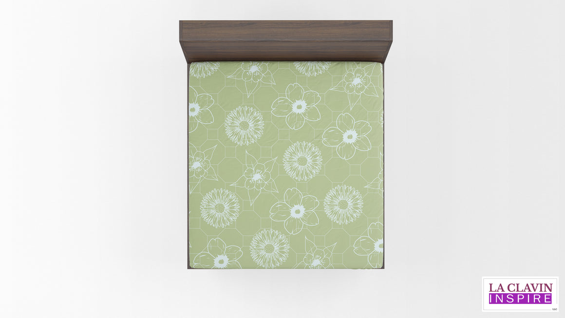 Colorado Wildflowers Fitted Sheet