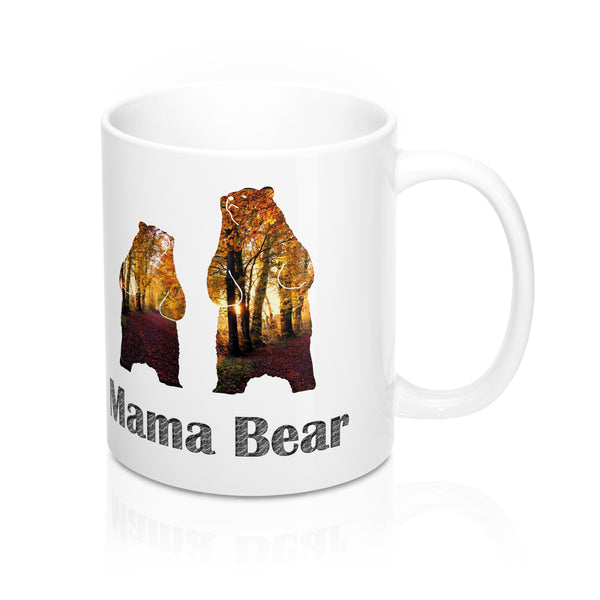 Mama Grizzly Bear Mug 11oz