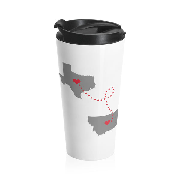 Texas to Montana Travel mug
