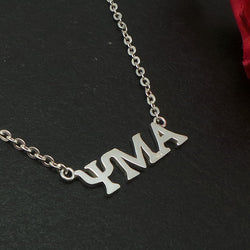 Psi Mu Alpha Necklace
