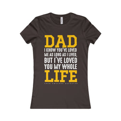 Dads with Daughter Women Shirt